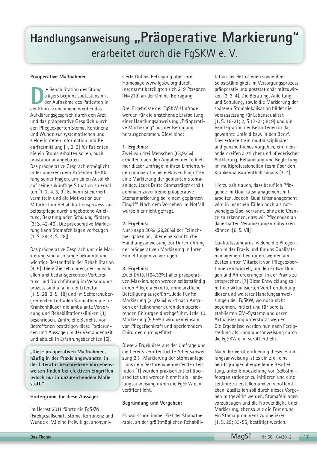 Praeoperative Markierung PDF