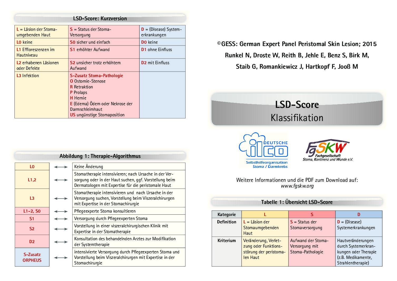 Score Klassifikation PDF