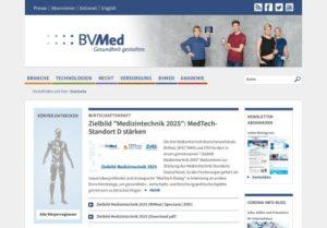 Screenshot BVMed