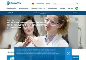 Screenshot Convatec