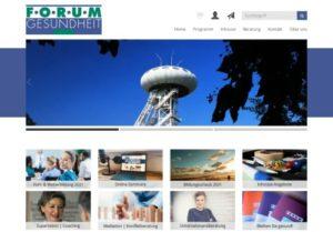 Screenshot Forum Gesundheit