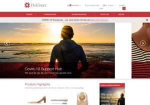 Screenshot Hollister
