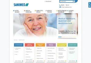 Screenshot Sanimed