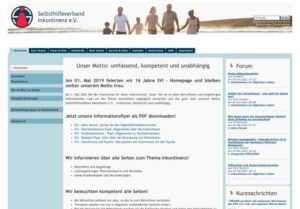 Screenshot Inkontinenz